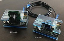 Above, and being showcased at Arm TechCon 2018, is the demo unit for Aldec's  4k Ultra HD image pass-through reference design, available for users the company's TySOM™-3-ZU7EV embedded development kit.