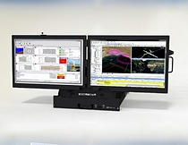 The BFX offers rugged, military grade, high performance, 2U rackmount LCD panel displays with two 24-inch TFT LCD displays with per panel resolution of 1920x1200. 1000:1 contrast ratio, and 4ms response time