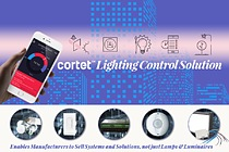 Cortet expands the market for existing lighting products as well as new IoT systems and solutions