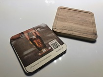 """Smart Call"""" connected beer coaster that knows how full the beer glass is; makes sure the customer is kept happy"""