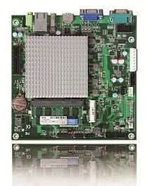 Portwell's WADE-8078: A Mini-ITX embedded system board featuring Intel Atom processor E3800 product family, DDR3L SDRAM, VGA, eDP, HDMI, Gigabit Ethernet and 3Gbps SATA