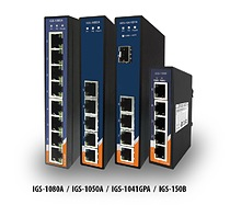 IGS-Series – 4/5/8-Port Gigabit Ethernet switches