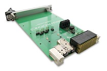 The LightCONEX™ revolutionary active blind mate optical interconnect for VPX embedded computing systems, consists of a plug-in module connector and a backplane connector compatible with the VITA 66 standard.