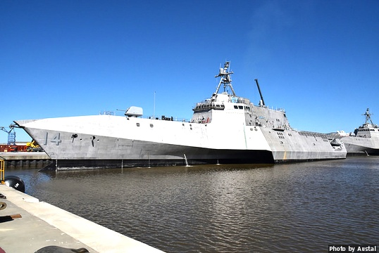 U S  Navy adds USS Manchester to the LCS fleet - Military
