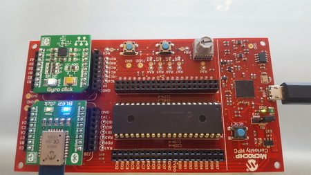IoT over BLE in 10 minutes with Microchip Curiosity and