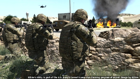 Image result for military uses video games to train soldiers