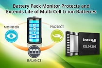 ISL94203 - Battery Pack Monitor