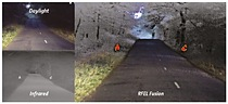 RFEL\'s digital video fusion in action