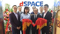 Ribbon-cutting ceremony for the new dSPACE branch office in Beijing.