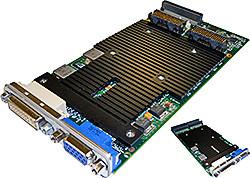XMC-E24D/PMC-E24D Dual-Display Graphics Module