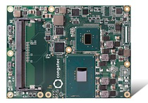 Server-on-Modules: congatec's new COM Express Basic modules with the latest Intel® Core™ and Intel® Xeon® processors deliver server-class embedded performance