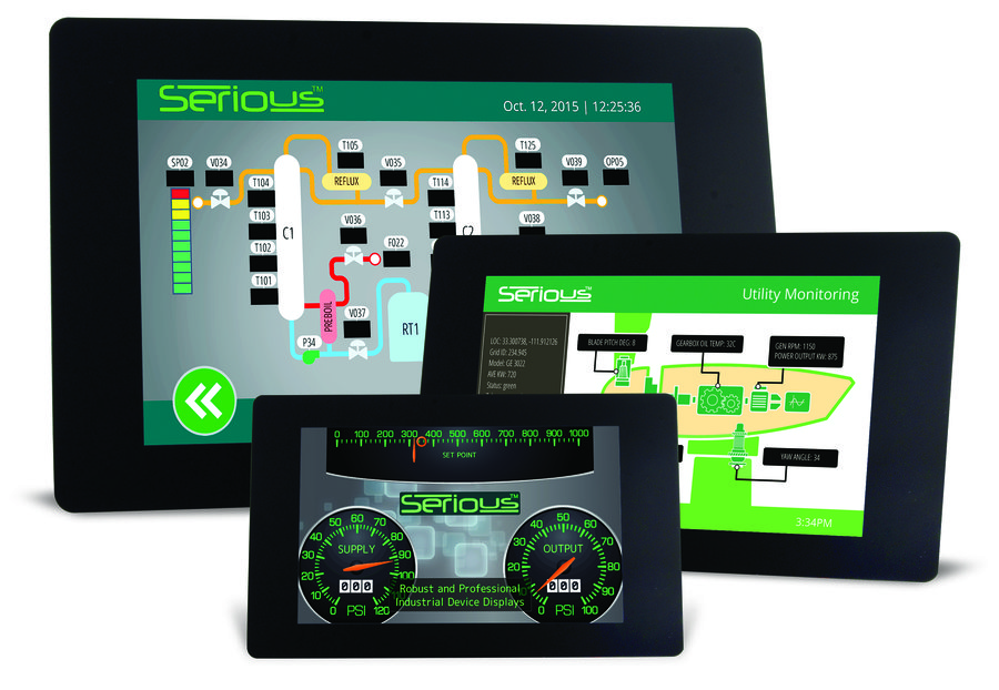 serious launches 4th generation full color lcd graphic touch modules