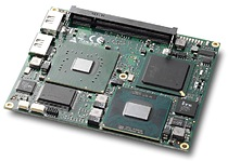 The ETX-NR667, based on the Intel® Core™2 Duo processor Mobile 945GME Express chipset provides high performance per watt on a computer on module available in the market today.