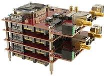 A Sundance EMC2-Z7030 stack