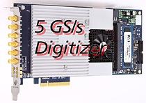 Spectrum\'s 5GS/s PCIe digitiser card