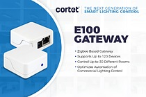 Cortet by CEL Releases new E100 Gateway for Next Generation Smart Lighting Control