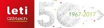 Leti 50th anniversary logo