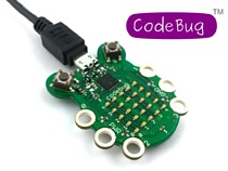The CODEBUG Development Board is a fun, engaging entry-level introduction to the world of coding, physical computing and electronics that's shaped like a ladybug
