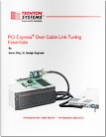 white paper pci express r over cable link tuning essentials
