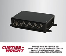 LIGHTWEIGHT, COMPACT RVG-SD1 PROVIDES 8-PORTS OF HIGHLY CONFIGURABLE SD/HD/3G-SDI VIDEO I/O