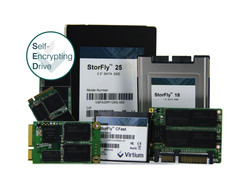 StorFly self-encrypting drives (SEDs)
