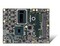 The conga-TS175 Computer-on-Module is equipped with the high-end dual chip versions of the brand new Intel® Xeon® and Gen 7 Intel® Core™ processors (codename Kaby Lake)