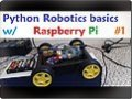 Raspberry pi with Python for Robotics 1 – Supplies Needed