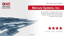 Mercury Systems Receives Four-Star Supplier Excellence Award from RTN