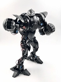 Moorebot Zeus Battle Robot that takes robot fighting to an entirely new level! From Boxing, to Kung Fu, to Karate, unleashing the imagination is in the palm of your hand.