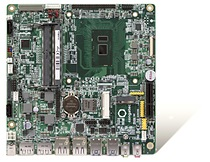 The 7th Gen Intel® Core™ processor-based Thin Mini-ITX motherboards from congatec