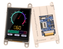 Intelligent display modules with integrated WiFi for fast implementation of wireless GUI applications with touch