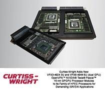 TESLA P6-BASED VPX3-4924 3U OPENVPX(tm) (SINGLE GPU) AND VPX6-4944 6U OPENVPX(tm) (DUAL GPU) MODULES ENHANCE VIRTUALIZATION AND DATA TRANSFERS IN HPEC SYSTEMS