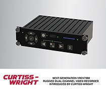 New VRDV7000 Delivers Flexible, High Density/High Quality SWaP-Optimized Dual-Channel Video Recording/Playback with Metadata Support