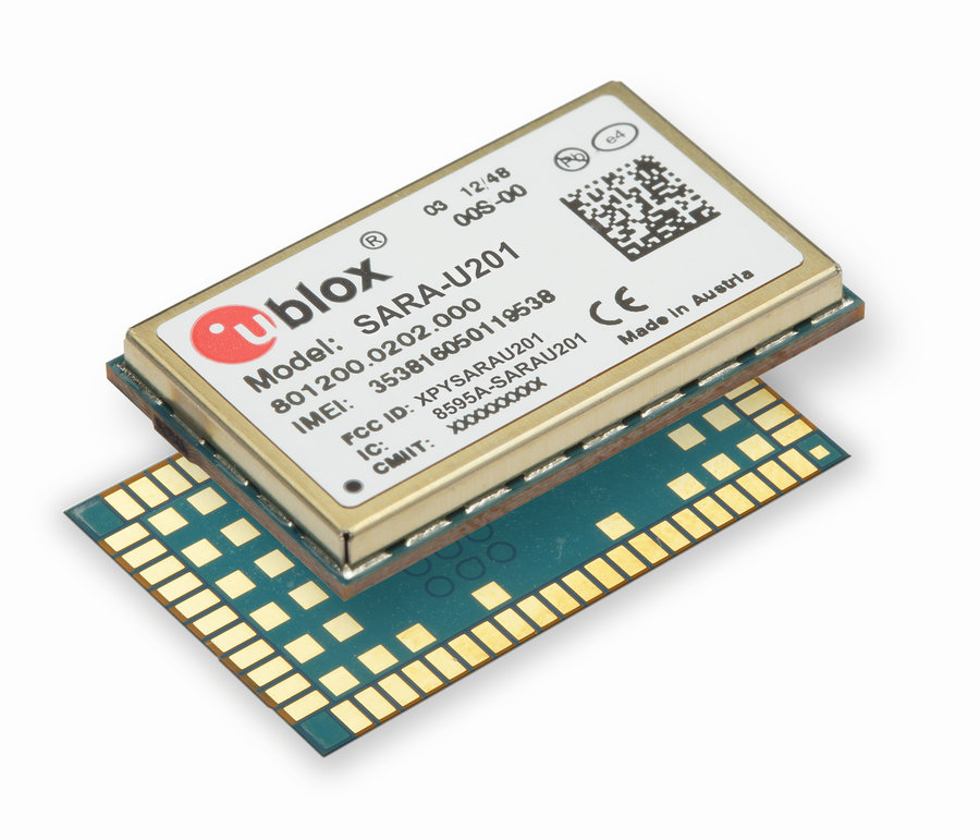 World's smallest global 3G/2G cellular module ideal for