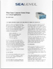 white paper computer system design for critical applications