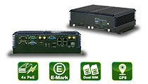 IVS-300 – Embedded PC with 4 PoE LAN
