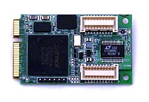 Rugged Data Acquisition PCIe MiniCard