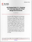 white paper ise design suite 11 1 creating the first user-specific fpga design environments