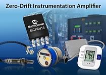 Zero-Drift Instrumentation Amplifier From Microchip