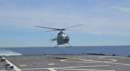 U.S. Navy Fire Scout completes testing amidst Sea-Air-Space exposition