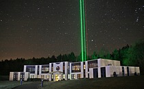Laser testing at IAP offices