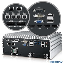 Vecow ECS-9755 Series 10 GigE GPU Computing System