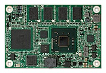 Portwell's PCOM-B21A: A Type 10 COM Express module featuring dual-core Intel Atom processor N2800/N26000, DDR3 memory, dual independent displays, USB ports, optional on-board SSD, and a tested operating temperature range of -40°C to 80°C
