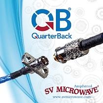SV Microwave\\\'s QuarterBack Connectors