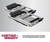 Safety Certifiable 3U VPX Graphics Modules for Avionics