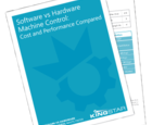 White Paper: Software VS Hardware -- Machine Control: Cost and Performance Compared