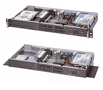 Network Digital Server Chassis for 1U mini-ITX rackmount chassis