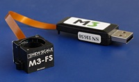 The M3-FS focus module has 0.5 micrometer precision, works on battery power, and resists shock, vibration and temperature extremes.  It performs at any orientation with high dynamic stability and little or no pixel shift.