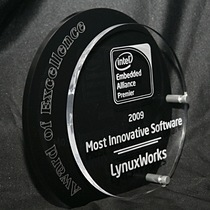 LynuxWorks Separation Kernel Wins Intel Embedded Alliance Software Innovations Award