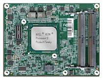 Portwell PCOM-B700G: A COM Express 3.0 Type 7 COM Express module featuring Intel Xeon processor D-1500 series, 10GbE interfaces and extended temp -40°C to +85°C